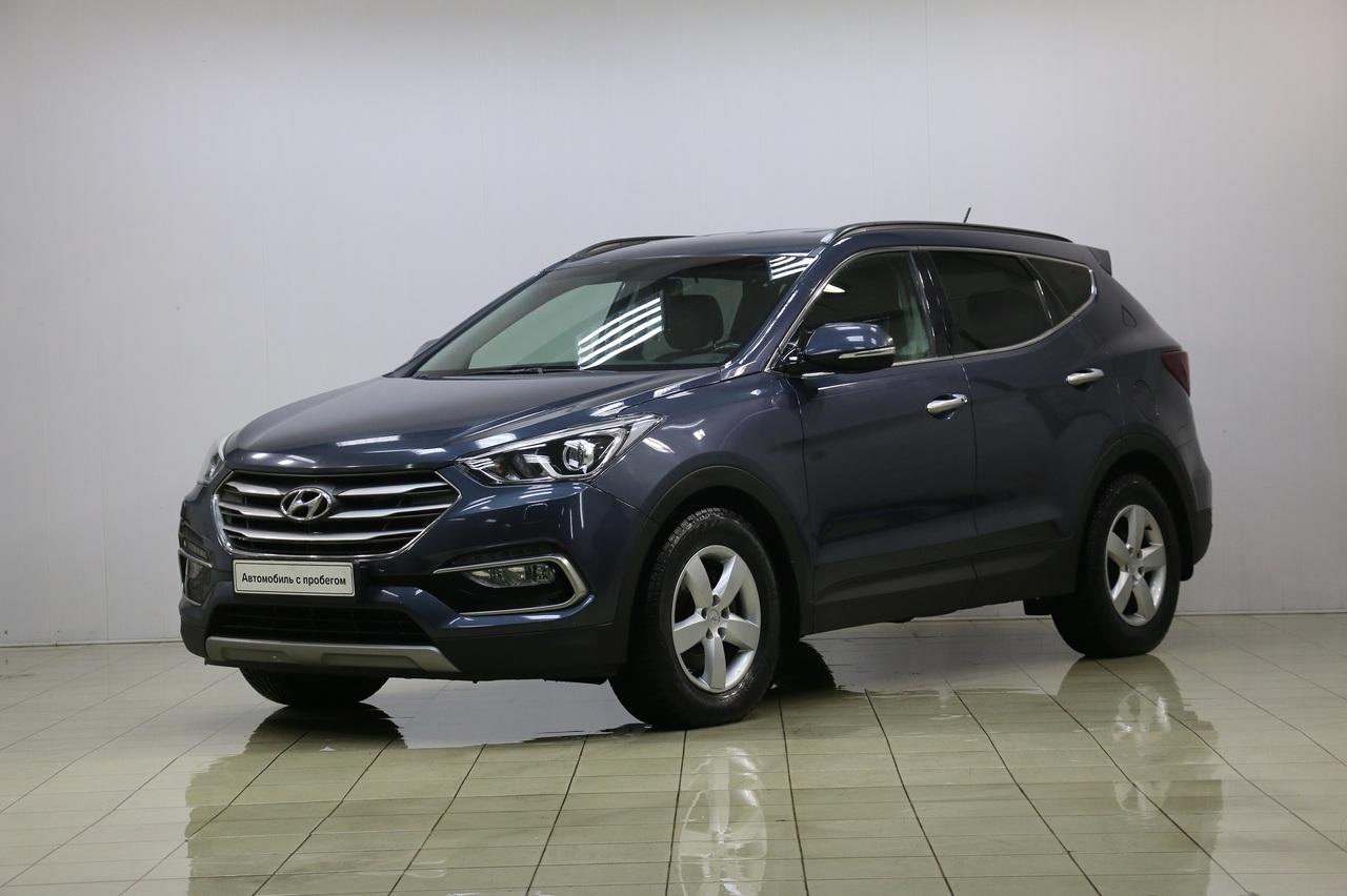 Hyundai Santa Fe 2015 г.